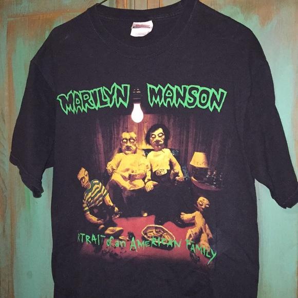 6d7671564b7b Vintage Marilyn Manson shirt. M_5c3bef6aa5d7c6801af7def3